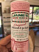 Mixes up salt - Product