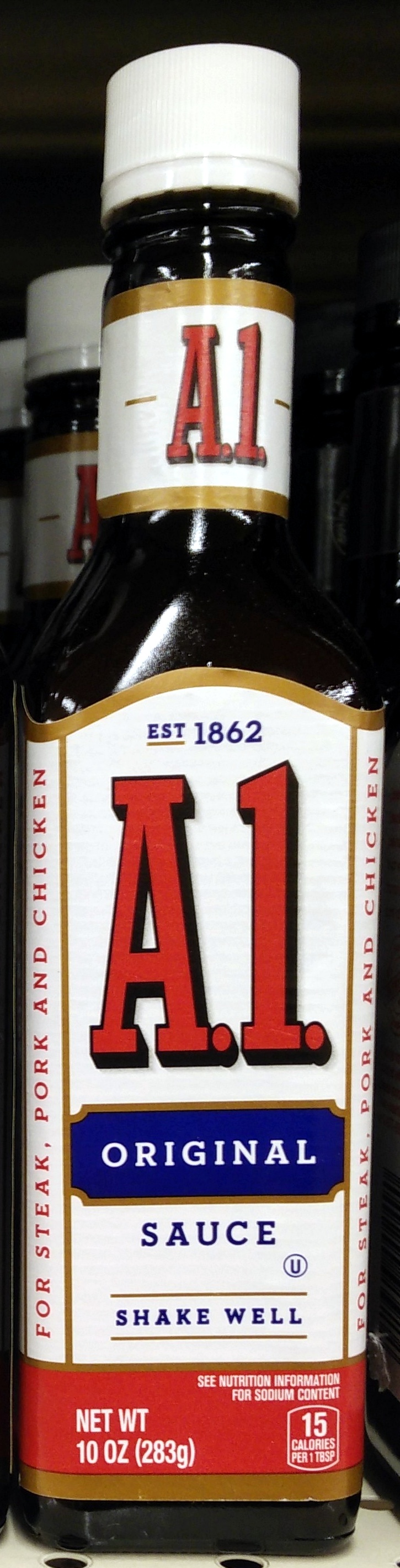 Steak Sauce A 1 10 Oz 283 G