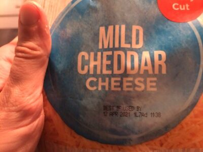 Fancy shredded mild cheddar cheese - Produkt - en