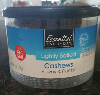 Lightly salted cashews halves & pieces, lightly salted - Produit