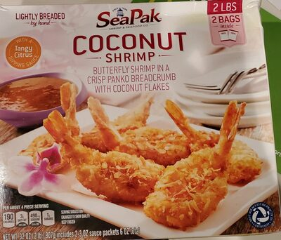seapak coconut shrimp - Product