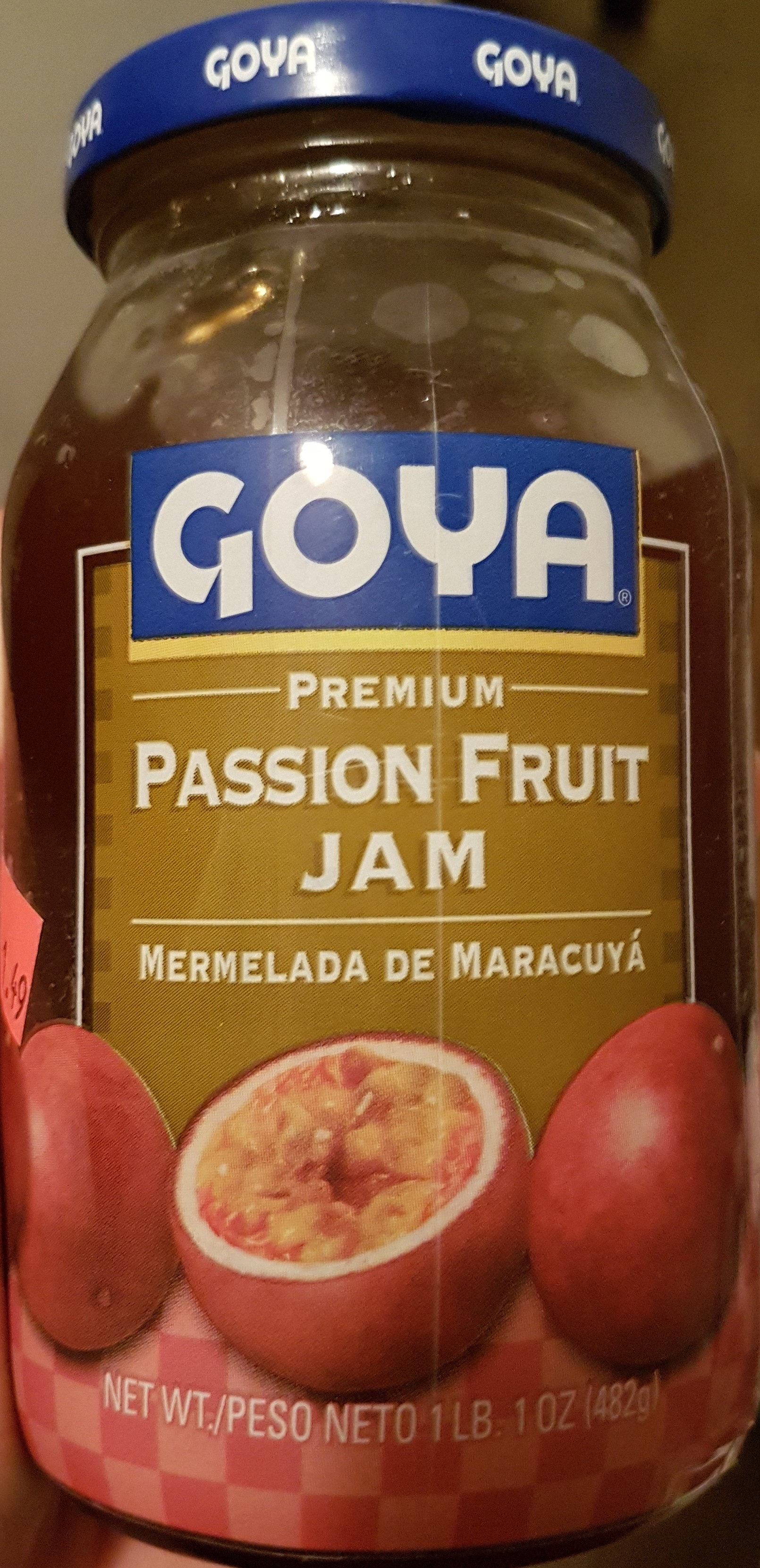 passion fruit jam - Product