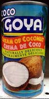 Cream of Coconut - Product