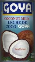Leche de coco - Producto
