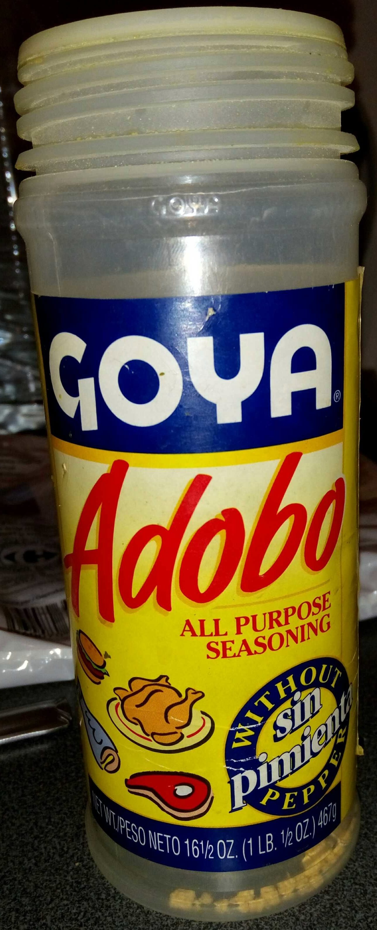 Adobo All Purpose Seasoning without pepper - Product