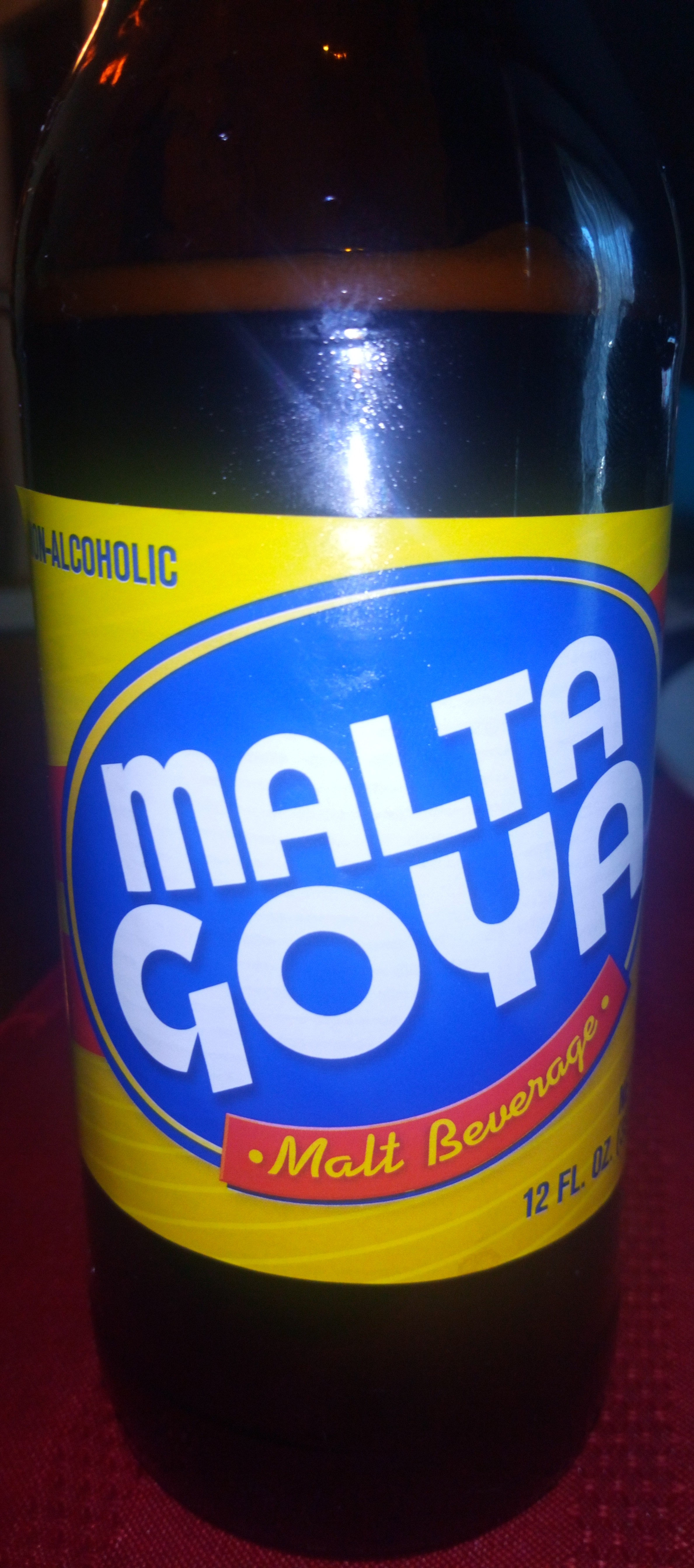 Malta Goya, Malt Beverage, Non-Alcholic - Product