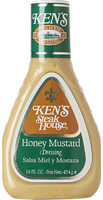 Honey mustard dressing - Product - en
