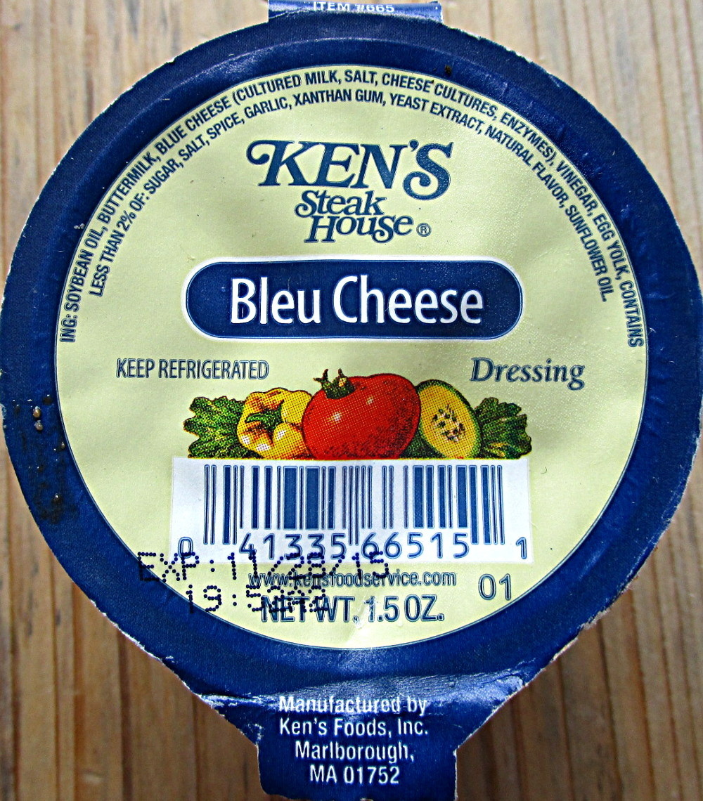 Blue Cheese - Ingredients