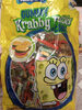 Spongebob Squarepants Gummy Krabby Patties Candy Mix, Original, Green Apple, Grape, Cherry, Blue Raspberry - Product