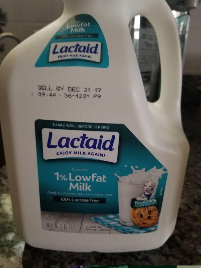 1% lowfat milk - Nutrition facts - en