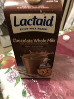 100% lactose free chocolate whole milk, chocolate - Product - en