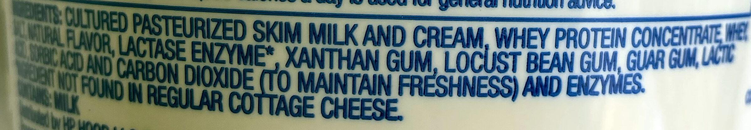 Cottage cheese - Ingredients - en