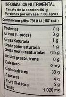 4C WHOLE WHEAT SEASONED - Nutrition facts