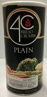 Bread crumbs plain - Producto - es