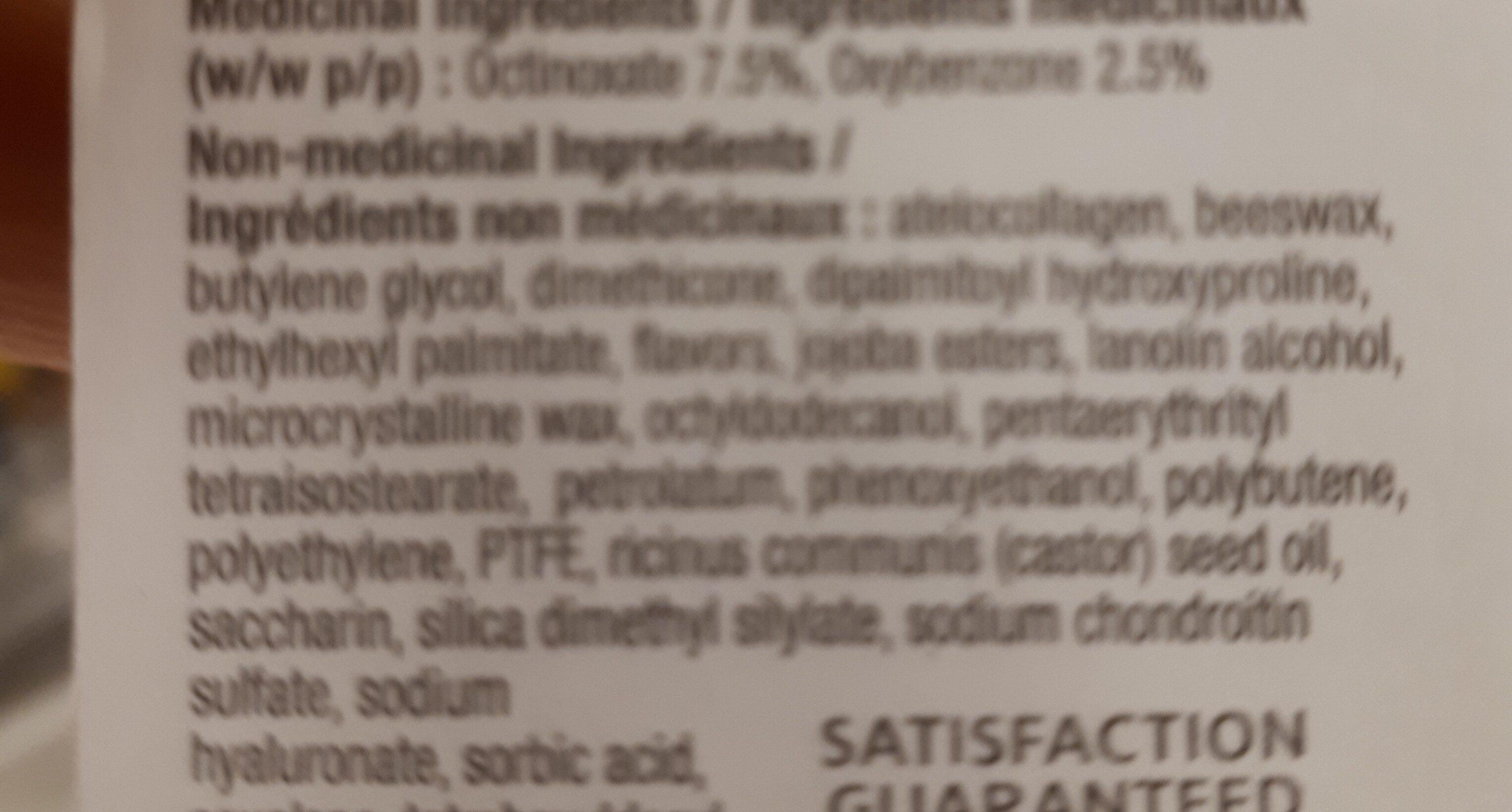 Blistex deep renewal - Ingredients - en