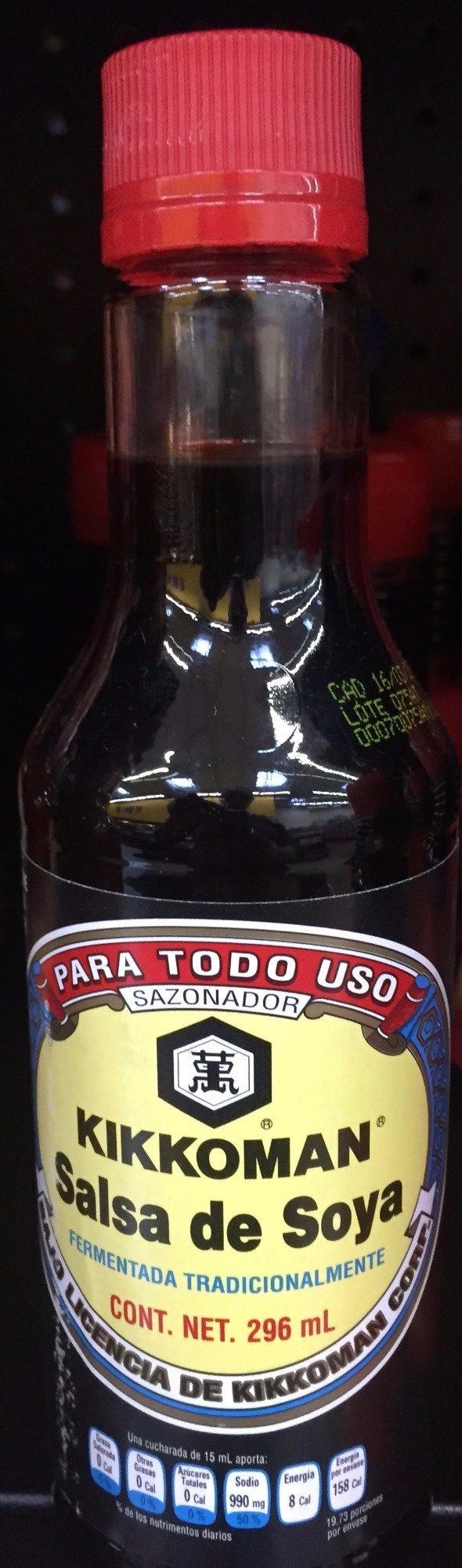 SALSA DE SOYA FERMENTADA - Product