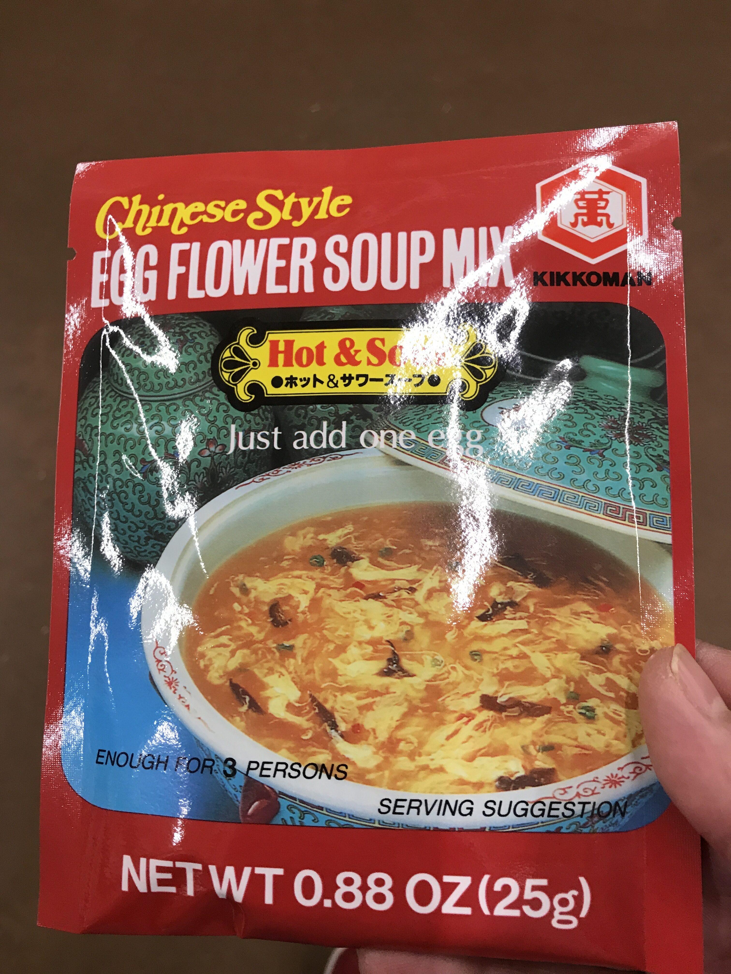 Egg Flower Soup Mix - Product