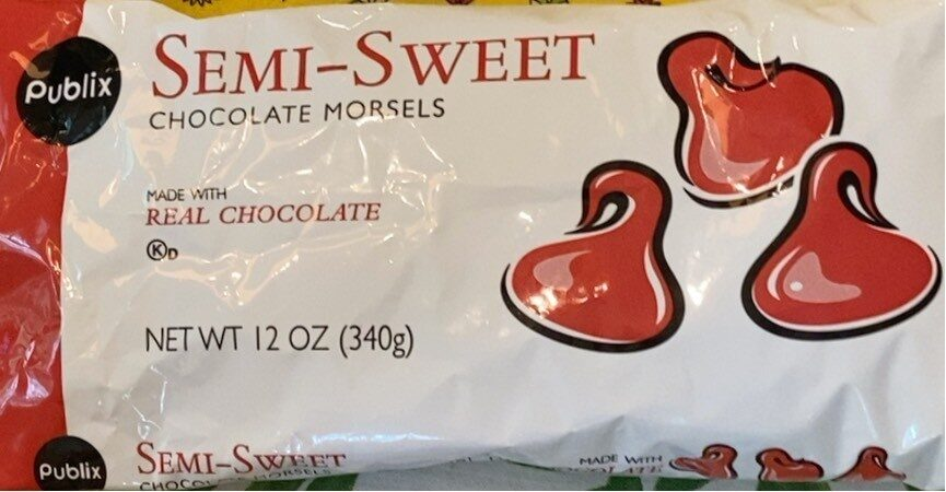 Semi-sweet chocolate morsels - Product - en