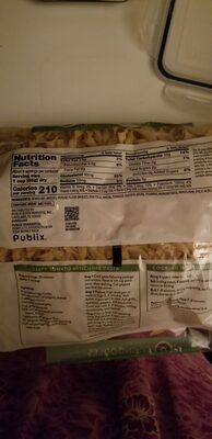 Publix egg noodles - Ingredients - en