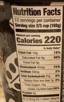 Chocolatey chip - Informazioni nutrizionali - en