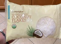 Unsweetened coconut flakes - Product - en