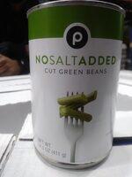 Cut Green Beans - No Salt Added - Prodotto - en