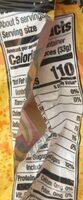 Peachieos gummy candy - Nutrition facts - en