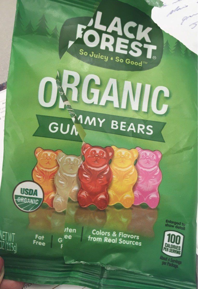 Organic gummy bears - Product - en