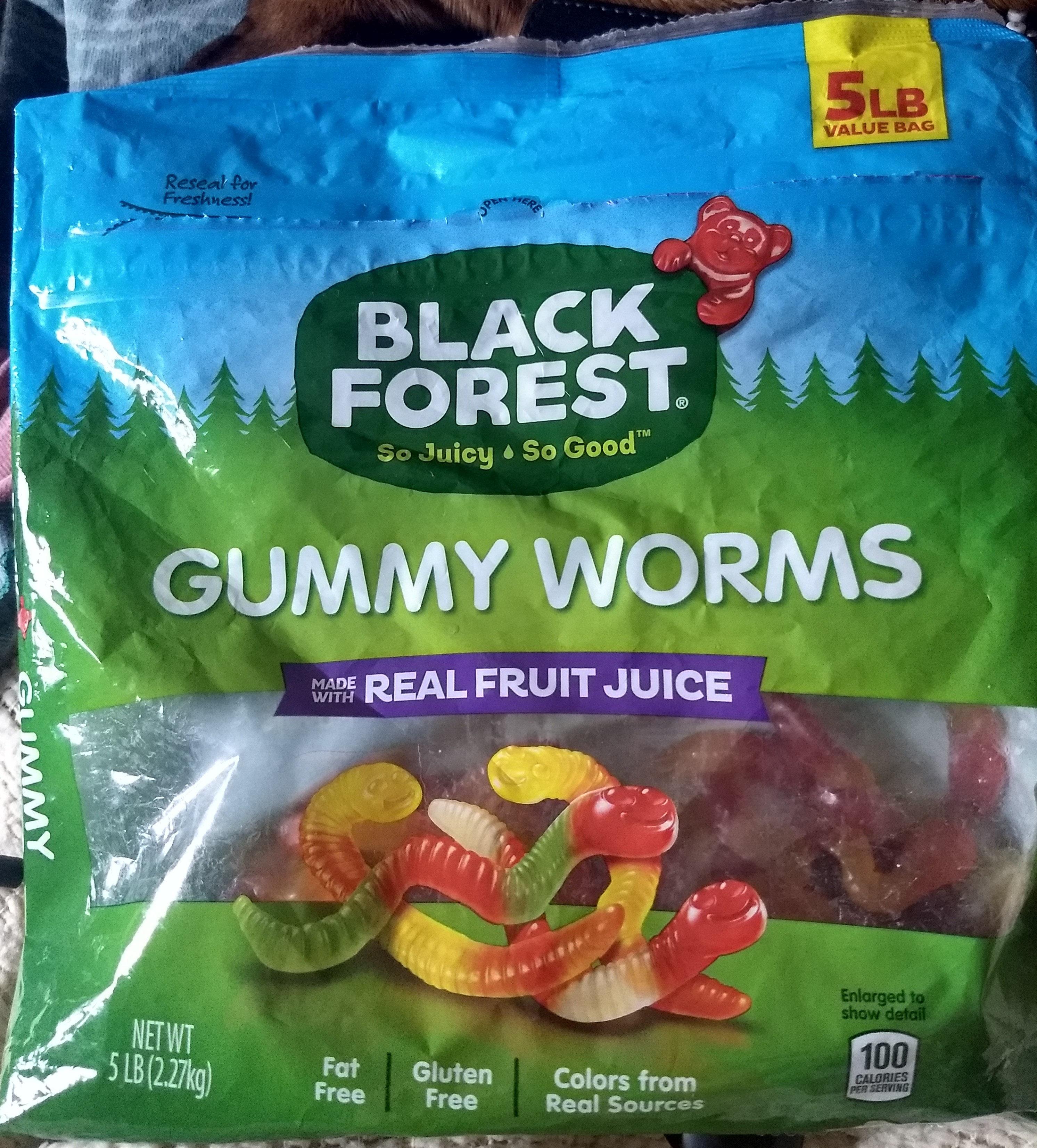 Gummy Worms - Product - en