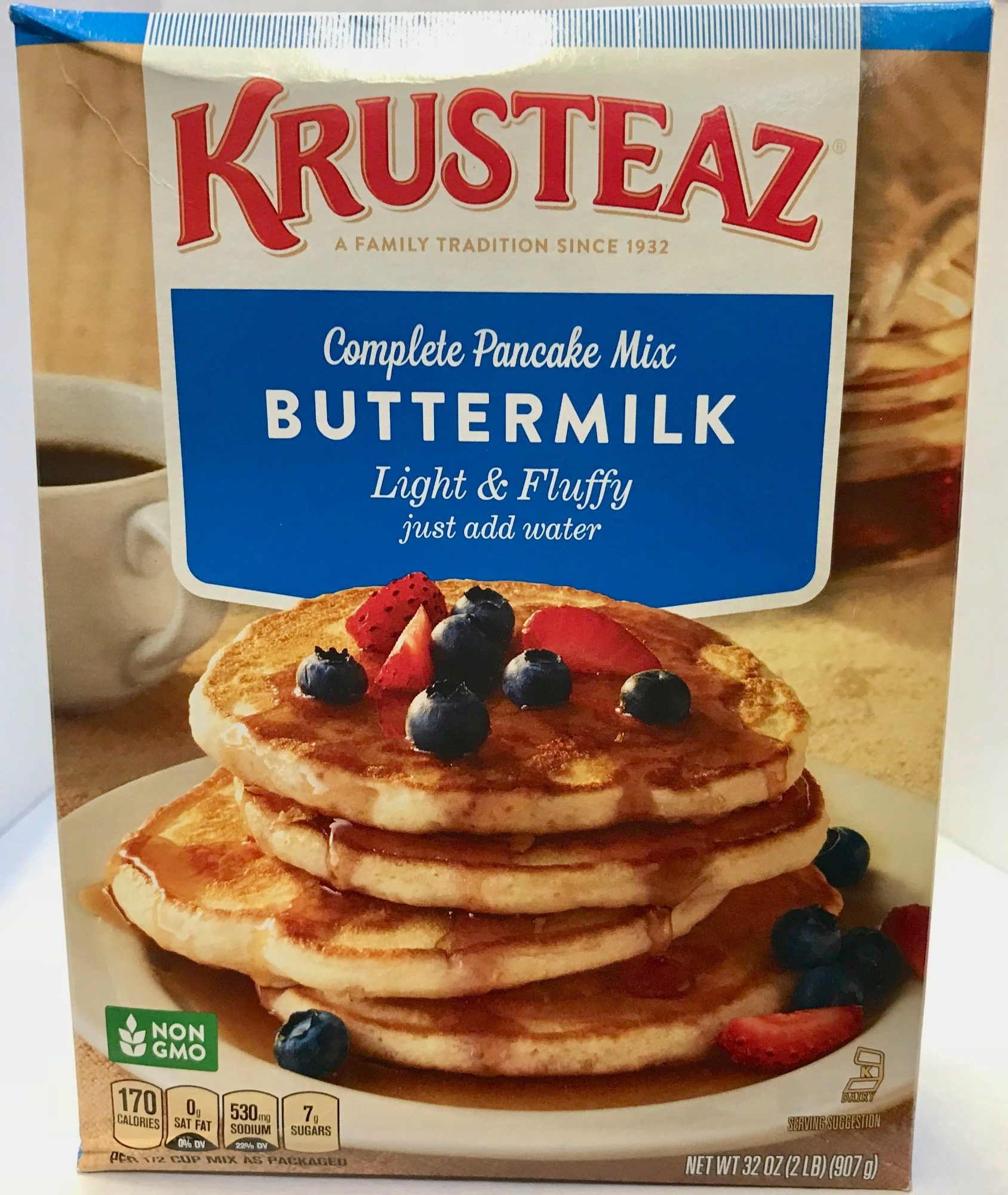 Buttermilk complete pancake mix, buttermilk - Producto - es