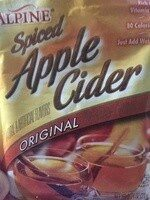Spiced Apple Cider - Product - en