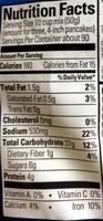 Buttermilk complete pancake mix - Nutrition facts