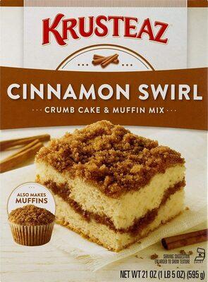 Cinnamon swirl crumb cake and muffin mix - Produit - en