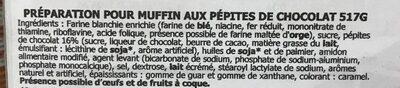 Supreme muffin mix - Ingrédients - fr