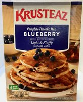 Light & fluffy blueberry complete pancake mix, light & fluffy blueberry - Producto - es