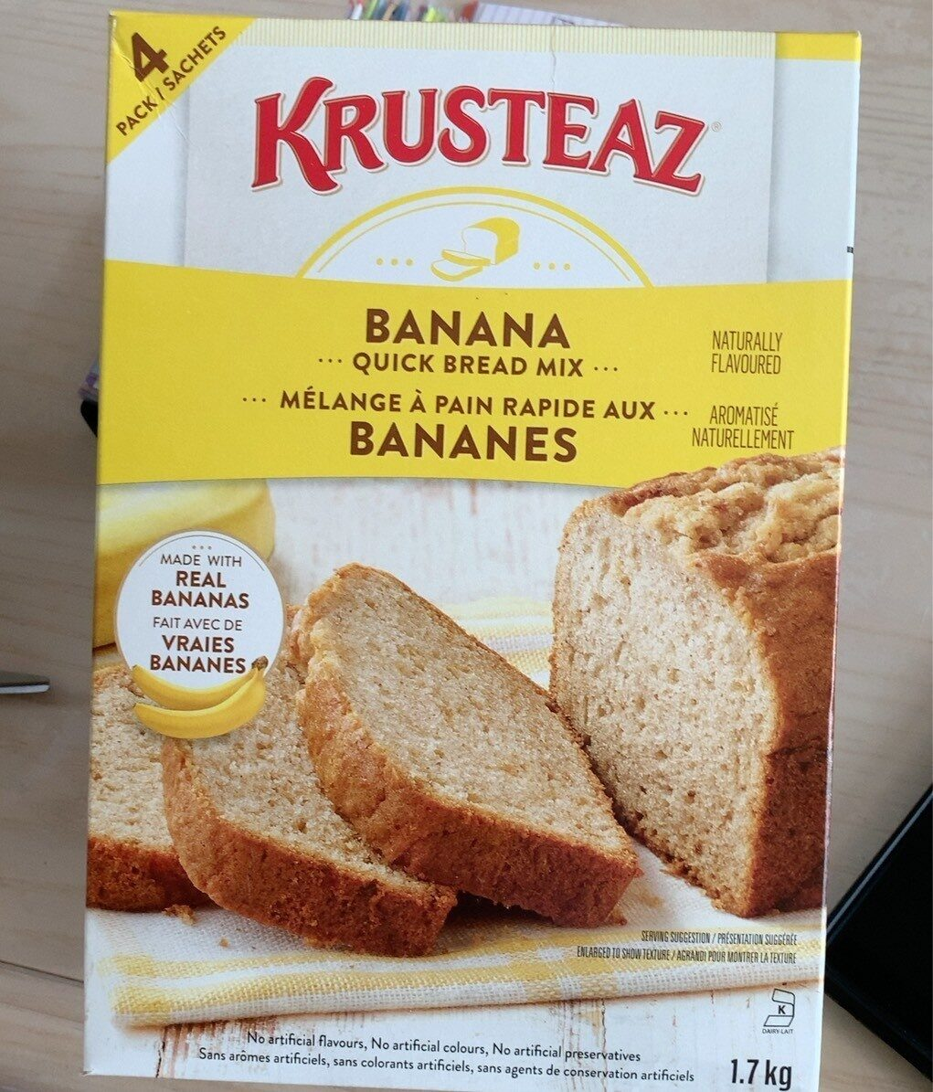 Mélange a pain au banane - Product - fr