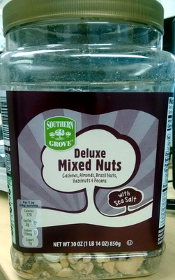 Delux Mixed Nuts - Product