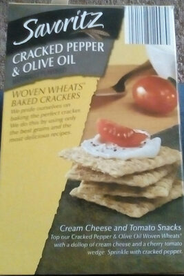 Woven wheats baked crackers - Product - en