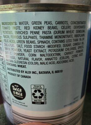 Minestrone - Ingredients - en