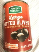 Large Pitted Olives - Product