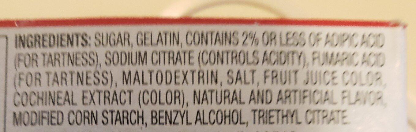 jelli - Ingredients