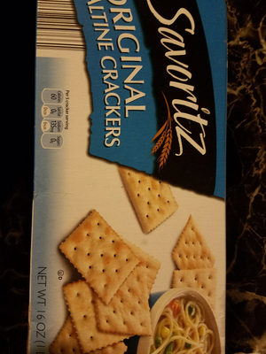 saltine crackers - Producto