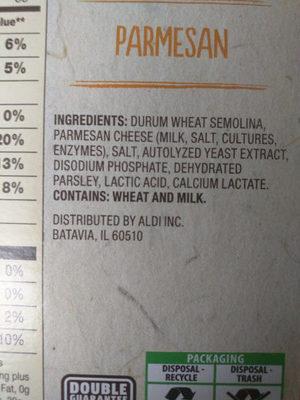 Parmesan Couscous Mix - Ingredients - en