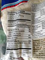 Pueblo Lindo - Nutrition facts