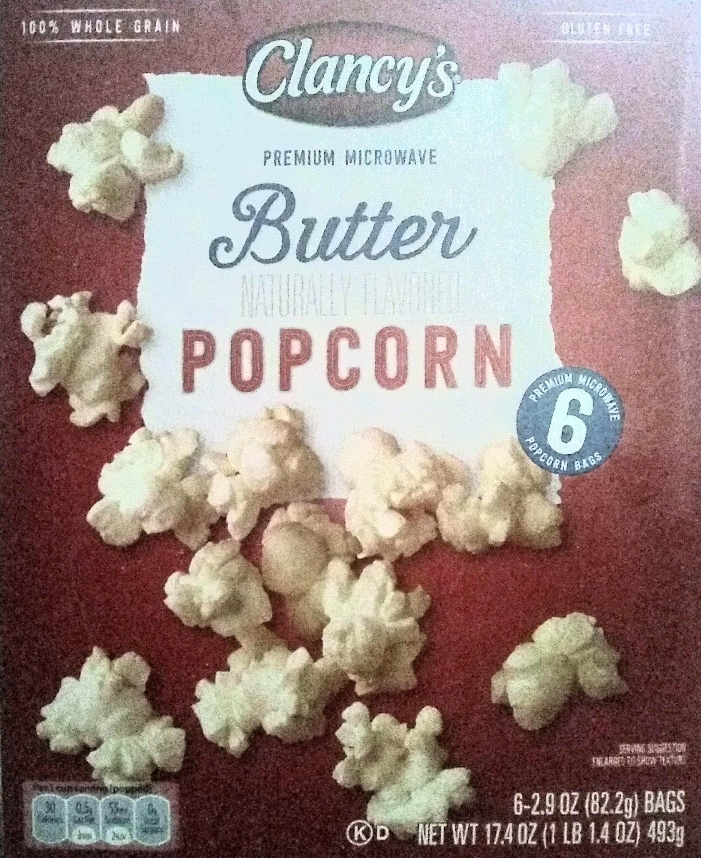 Premium microwave butter popcorn, butter - Produit - en