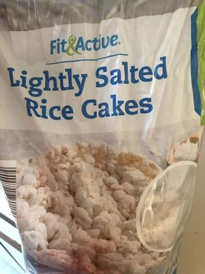 Lightly salted rice cakes - Product - en