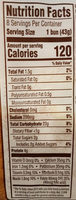 L'oven Fresh Hamburger Buns - Nutrition facts