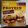 Peanut, dark chocolate & almond protein chewy bars, peanut, dark chocolate & almond - Product