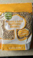 Roaster & Salted Sunflower kernels - Product - en