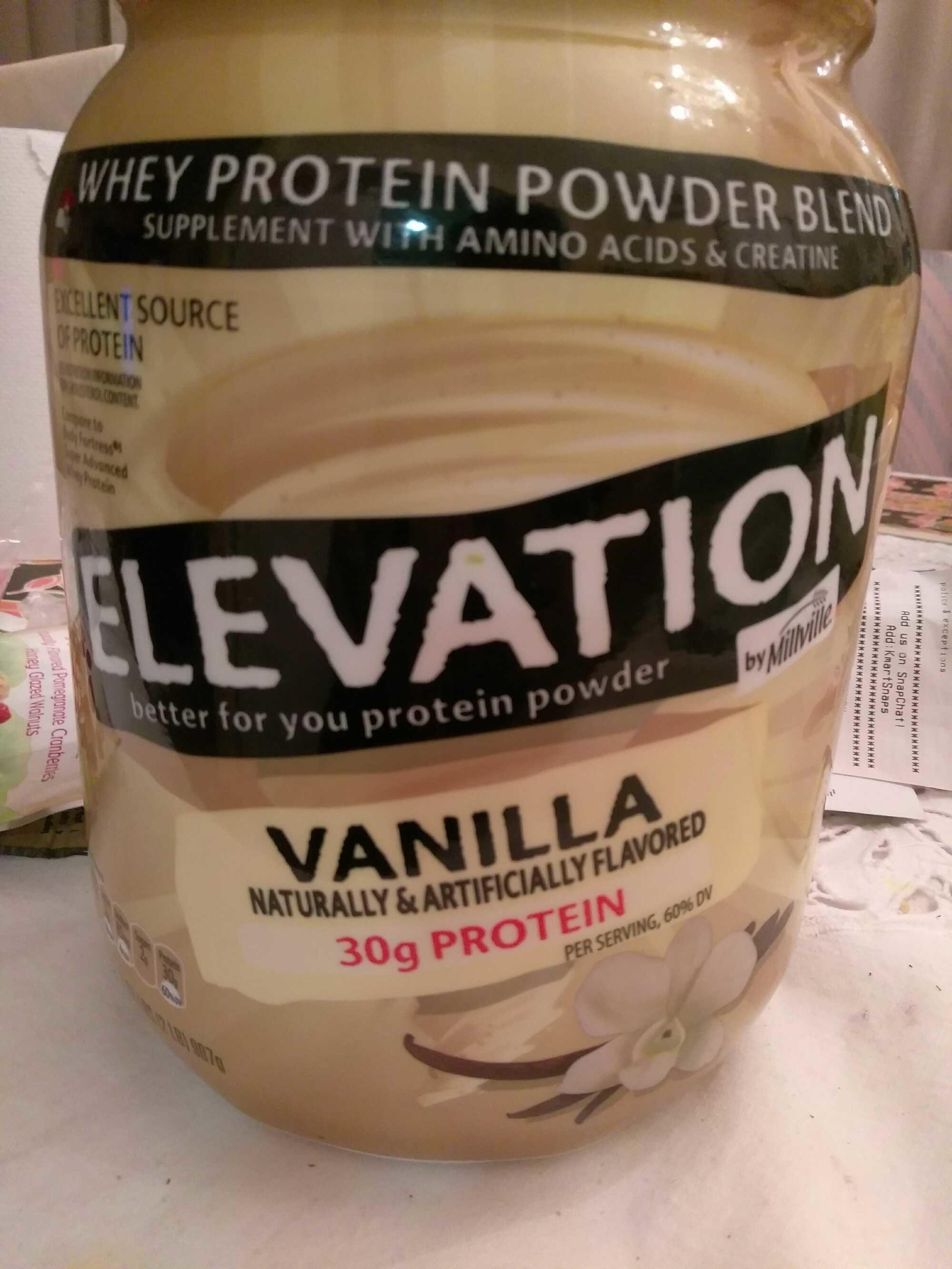 Elevation Protein Powder Millville 32oz